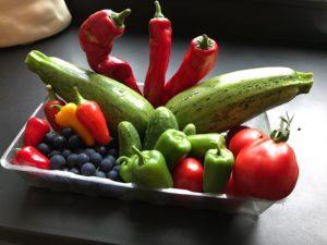 Eet met name veel verse groentes en fruit voor de nodige anti-oxidanten