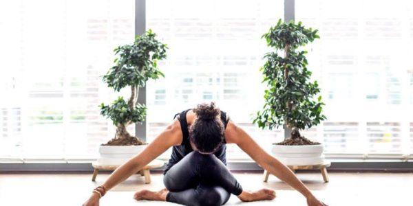 Yin Yoga Goed Voor Ontspanning Van Hoofd En Lichaam